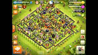 Clash of Clans - TH10 #1 - How to Farm (GoGiWi) in Champion League after Dec 2015 update