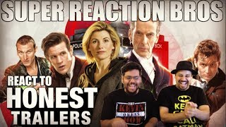 SRB Reacts to Honest Trailers - Doctor Who (Modern)