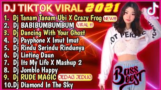 Download DJ TANAM TANAM UBI X CRAZY FROG REMIX VIRAL TIKTOK TERBARU 2021 | DJ TIKTOK FULL ALBUM FULL BASS