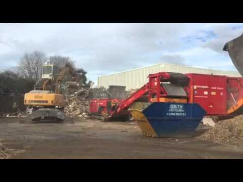 Hammel Gbi 750dk into nz high speed shredding wood