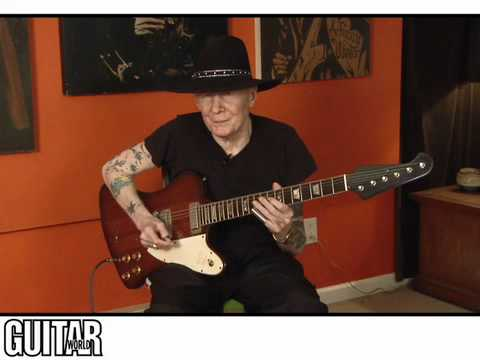 Johnny Winter Blues Lesson