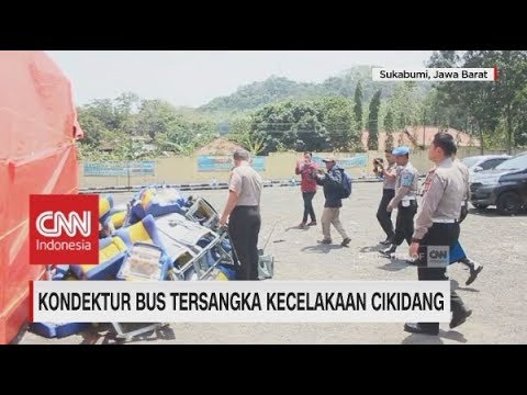 Kondektur Bus Tersangka Kecelakaan di Cikidang Sukabumi ...