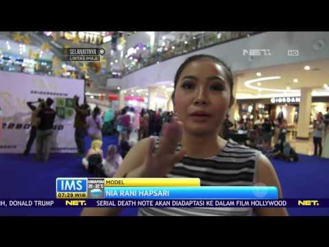 Peragaan Busana Ekstrem di Fashion Show Vertikal di Solo, Jawa tengah
