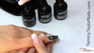 ♡ Tammy Taylor Holiday Glam Collection Gel Polish Demo