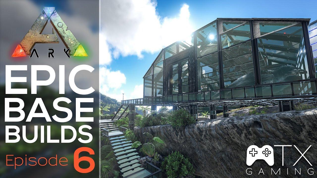 Ark Epic Base Build Ep6 Bird Pen Cage YouTube