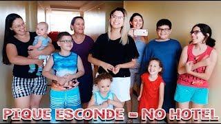 PIQUE ESCONDE NO HOTEL COM A TURMA TODA