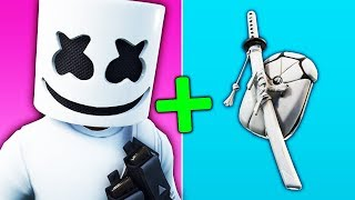 10 COMBINATIONS of SKINS with MARSHMELLO! (Fortnite Battle Royale)