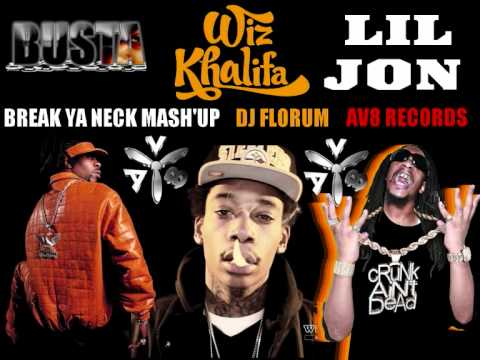 BUSTA RHYMES vs LIL JON & WIZ KHALIFA - BREAK YA NECK (DJ FLORUM PARTY MIX)