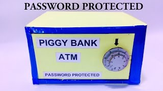 How to make Piggy Bank/ATM Password Protected