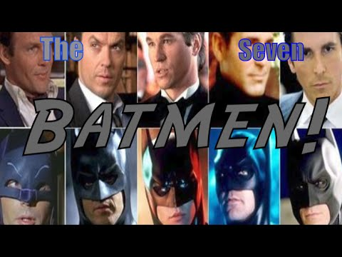 what actors played batman in the movies