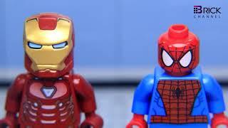 Lego IRON MAN's ARMOR was Stolen by JOKER