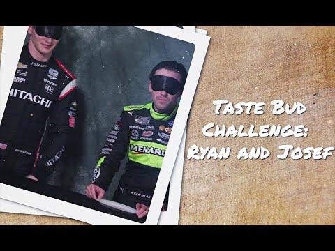 Taste Bud Challenge - Ryan Blaney And Josef Newgarden