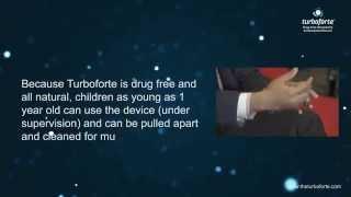 Turboforte Drug Free Lung Enhancement Medical Device