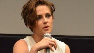 """NYFF52: """"Clouds of Sils Maria"""" Q&A   Kristen Stewart & Juliette Binoche on Their Roles"""