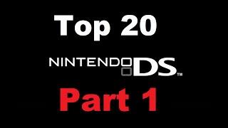 Top 20 Nintendo DS Games (Part 1)