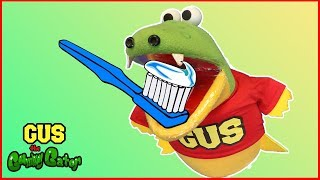 Pretend Play Toys Gus's First Dentist Visit Brushing Teeth Learning Toys Funny Video For kids Family