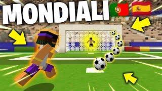 I MONDIALI DI CALCIO SU MINECRAFT ITA! - Spagna VS Portogallo