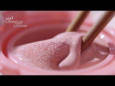 ?핑크 덕후들 모여라!?화장품 핑쿠핑쿠하게 부수기! [힐링타임즈] 코덕들 맴찢 영상 6탄! | [ASMR] Destroying Cosmetic With PINK Products