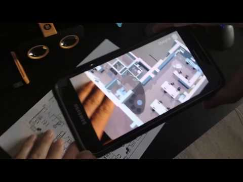 www.TechnicalDrawings.co.uk - Augmented Reality from plan