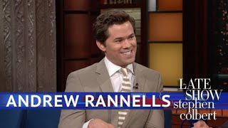 Andrew Rannells Keeps It Professional, Mostly