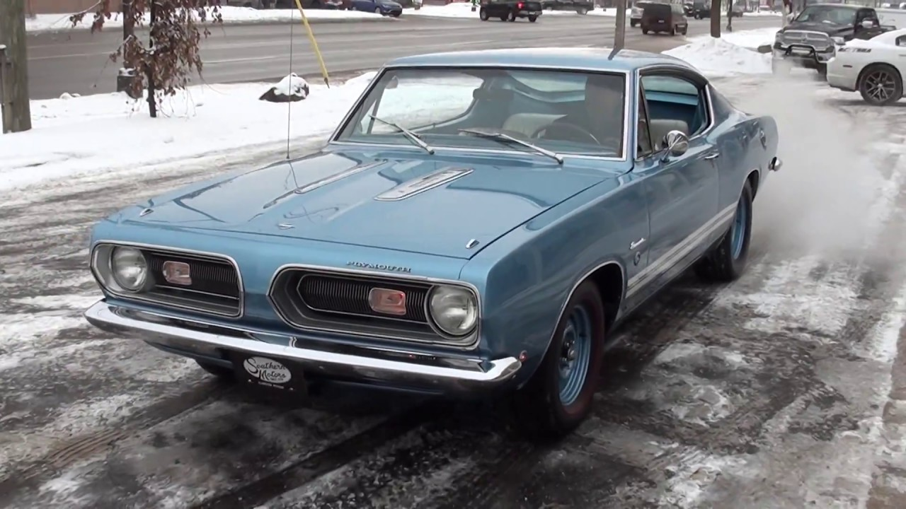 1968 Plymouth Barracuda Formula S 3690000