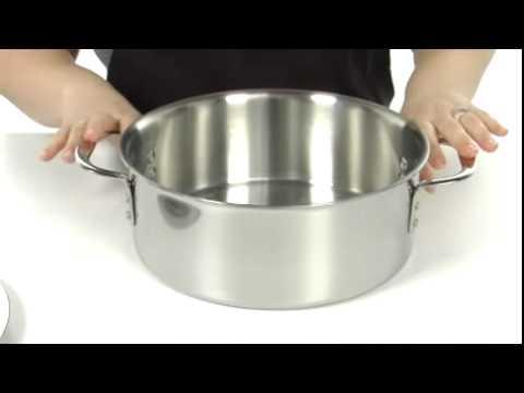 calphalon triply stainless steel 5 qt dutch - Calphalon Tri Ply Stainless Steel
