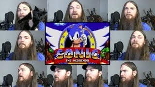 Repeat youtube video Sonic - Green Hill Zone Acapella