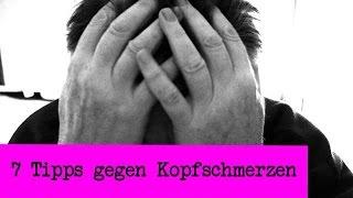 7 Tipps gegen Kopfschmerzen und Migräne / Tipps und Tricks ohne Medizin | deutsch