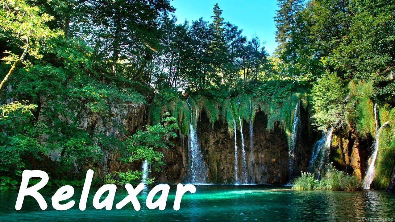 Acalmar A Mente Música Relaxante Piano E Natureza Relaxar Youtube