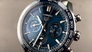 eficientemente presente destacar  Tag Heuer Carrera Chronograph CBN2A1A.BA0643 Tag Heuer Watch Review -  YouTube