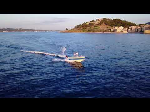 Saint-Tropez - Summer 2017 - Mavic PRO - Boat following
