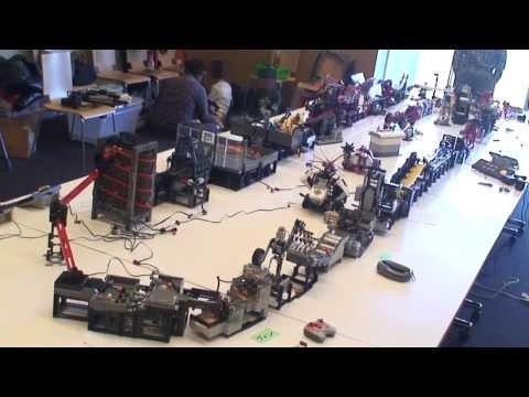 La máquina Lego más compleja que has visto en mucho tiempo