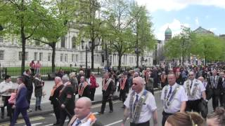 36th Ulster Division March Past.