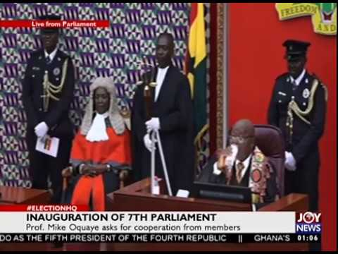 INAUGURATION OF 7TH PARLIAMENT