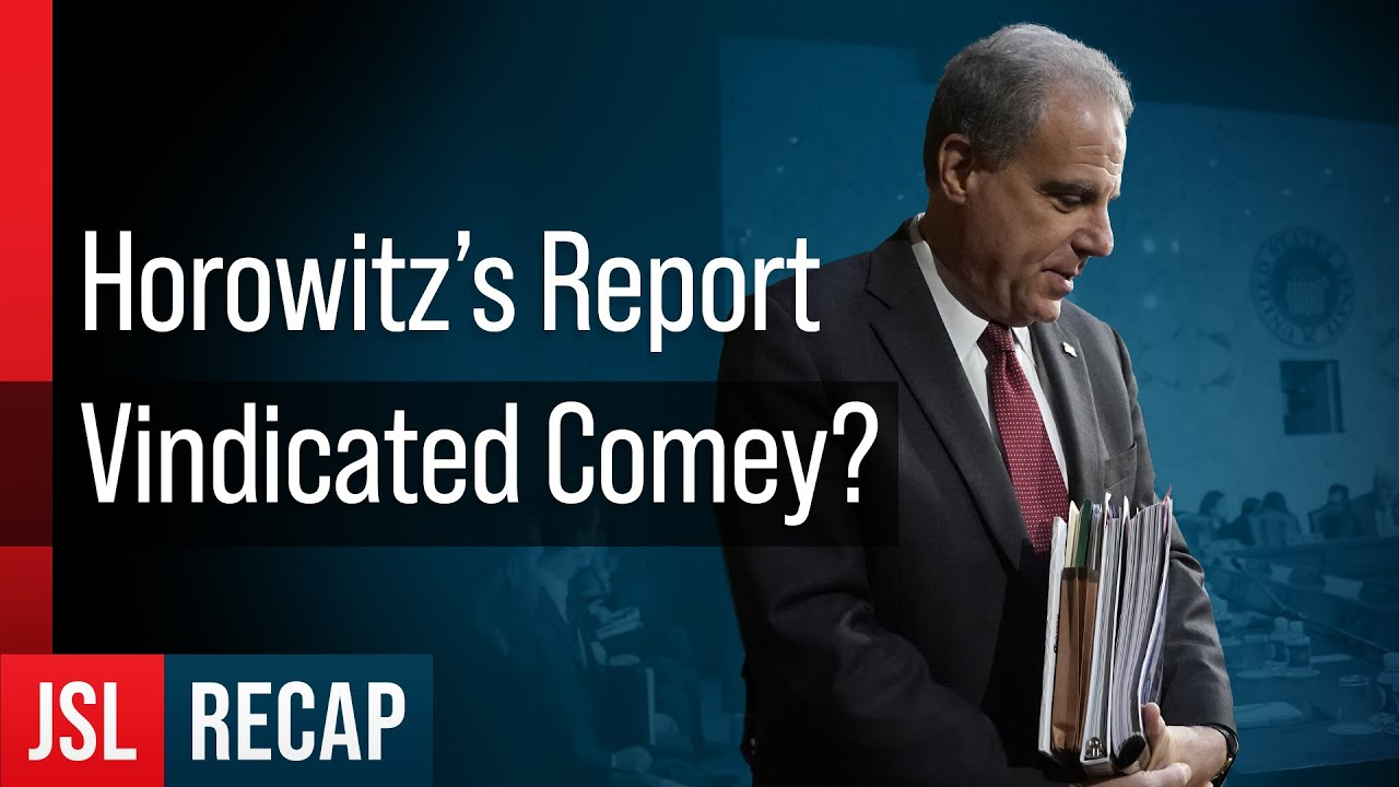 Was James Comey Vindicated by Horowitz's IG Report? - ACLJ