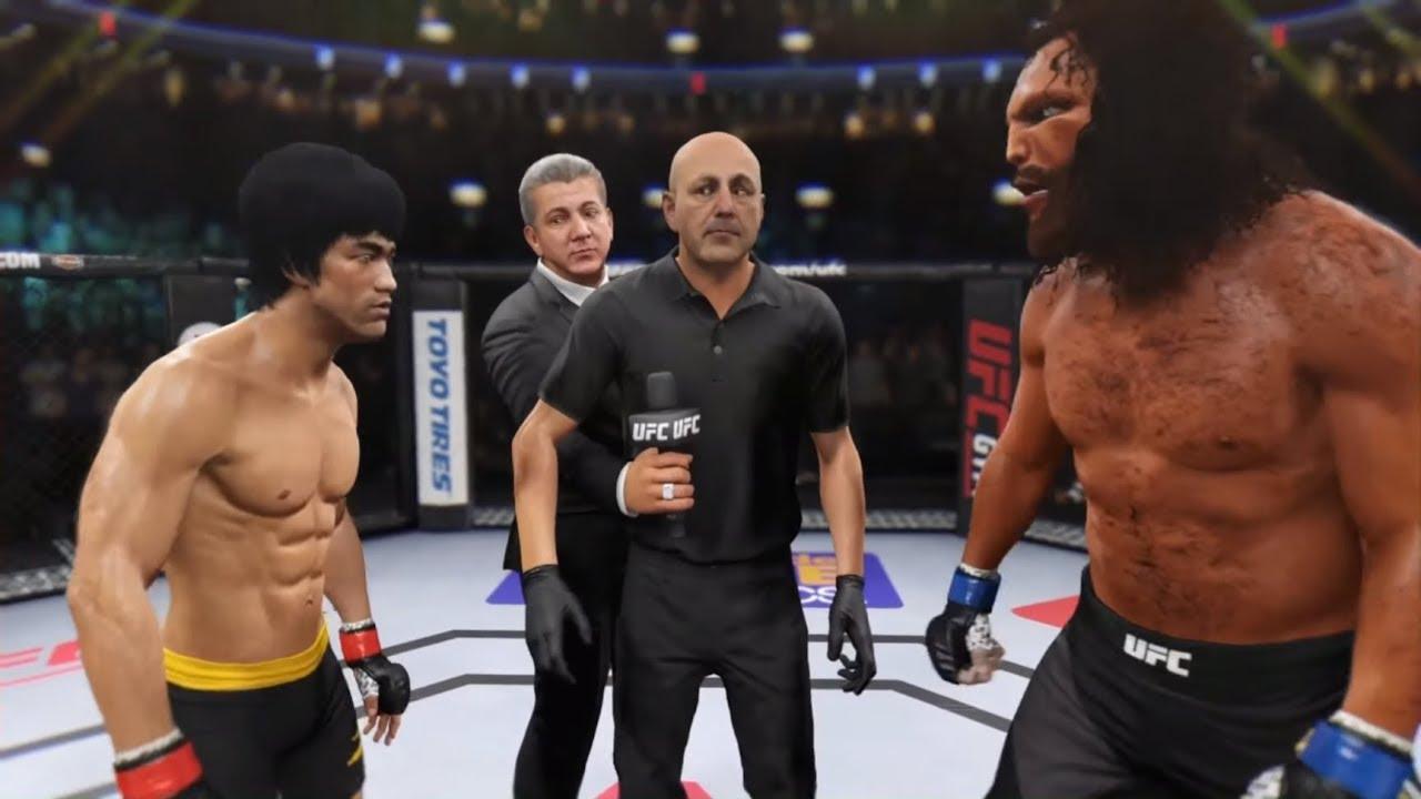 Bruce Lee vs. The Beast (EA Sports UFC 2) - CPU vs. CPU