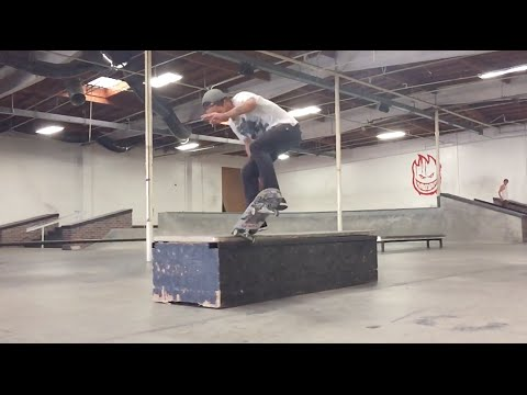 Kevin Long Spanks Biebels Park