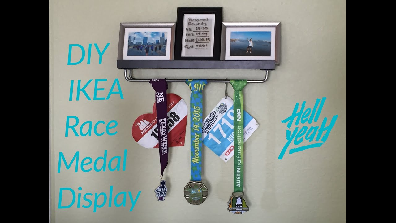 hanging home board accessories homeware decor wall marathon achievement with copper bib ltd rack personalised and shelf unique display personalisation medal pushka