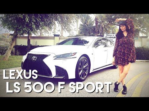 LS 500 F Sport: o FULL SIZE sedã da LEXUS, divisão de luxo da TOYOTA!