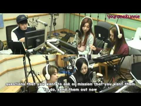 [ENG/1080] 151105 f(x) @ Kiss The Radio FULL