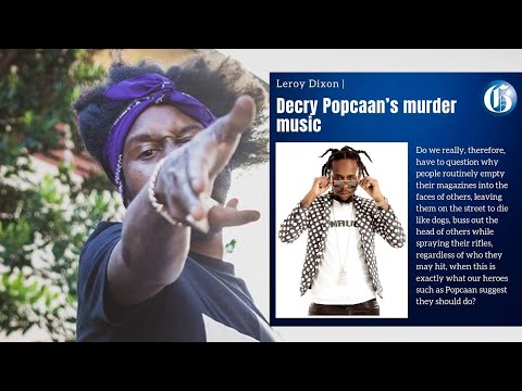 BAN Popcaan Music And Save Thousands Of Lives Says Jamaica Gleaner