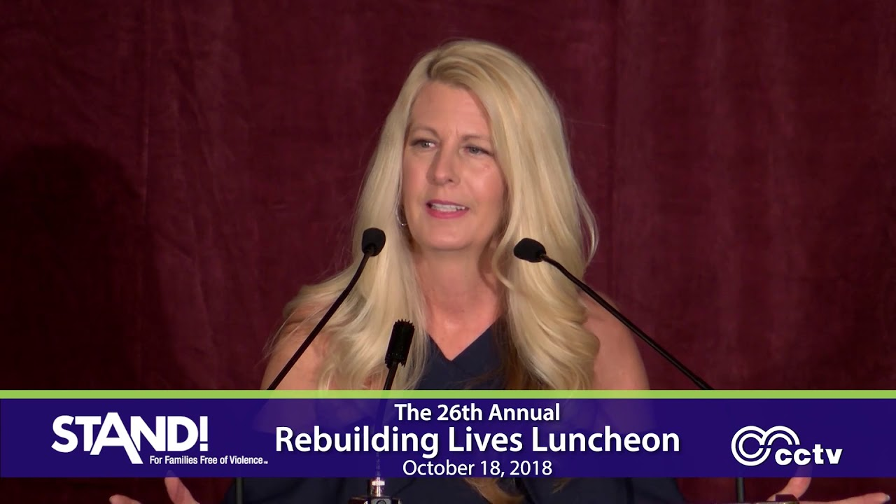 Jennifer Jost, Keynote Speaker, STAND! For Women and Girls
