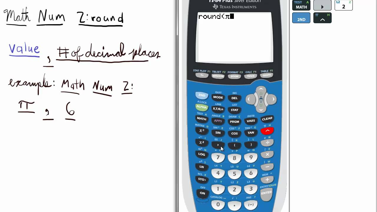 how to change the decimal places on a calculator