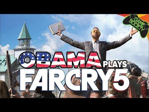 Obama Plays Far Cry 5