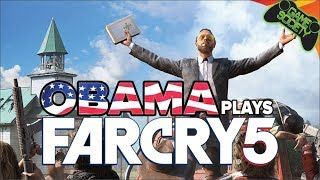 Obama Plays Far Cry 5