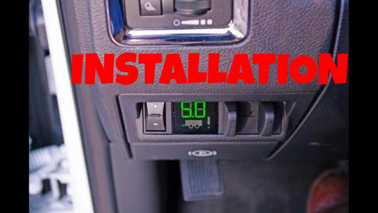 4th Gen 2009 2012 Dodge Ram 1500 2500 3500 Integrated Trailer 7 Way Car Plug Wiring Diagram Brake Controller Installation Video