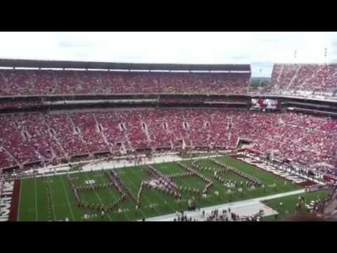 Alabama vs. Western Kentucky Pre-game 2012