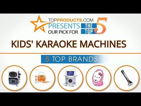 Best Kids' Karaoke Machine Reviews 2017 – How to Choose the Best Kids' Karaoke Machine