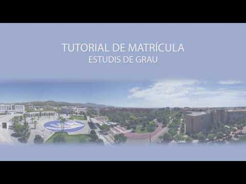 Tutorial per fer la matrícula de grau a l'UJI 16-17