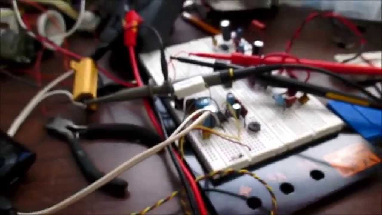 Tda2822m Stereo Audio Amplifier Ic Test And Review Youtube Tda2822 Power Circuit